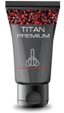 Cara pakai Titan Gel yg benar — Oleskan sedikit ke penis ereksi yang kering